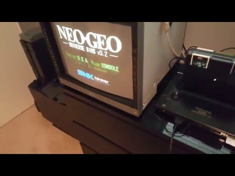 Neo Geo Multi Game Doctor 2 ROM loader MGD2