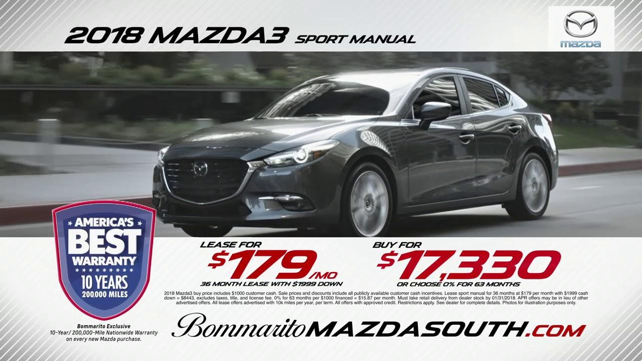 Mazda3 Bommarito Mazda South Youtube