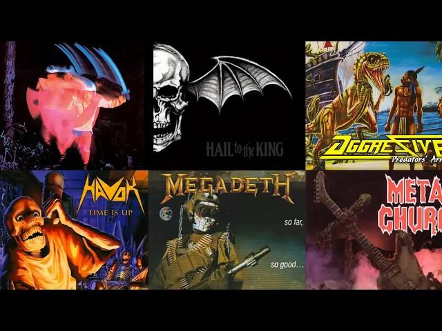 PLAGIOS/ INFLUENCIAS EN EL METAL  & ROCK #7 | SLAYER, HAVOK, HORCAS, ETC.