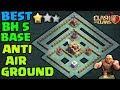 ⚔BH5 Base Builder Hall 5 ⚔ IMPOSSIBLE 2 STAR With Replay Anti Giant Anti Barcher Anti Air Troops