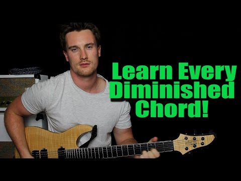 How to Play: C# Dim (and all diminished chords)