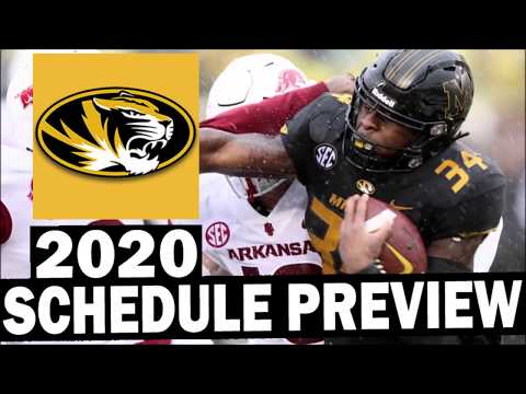 Missouri Tigers 2020 College Football Schedule Preview