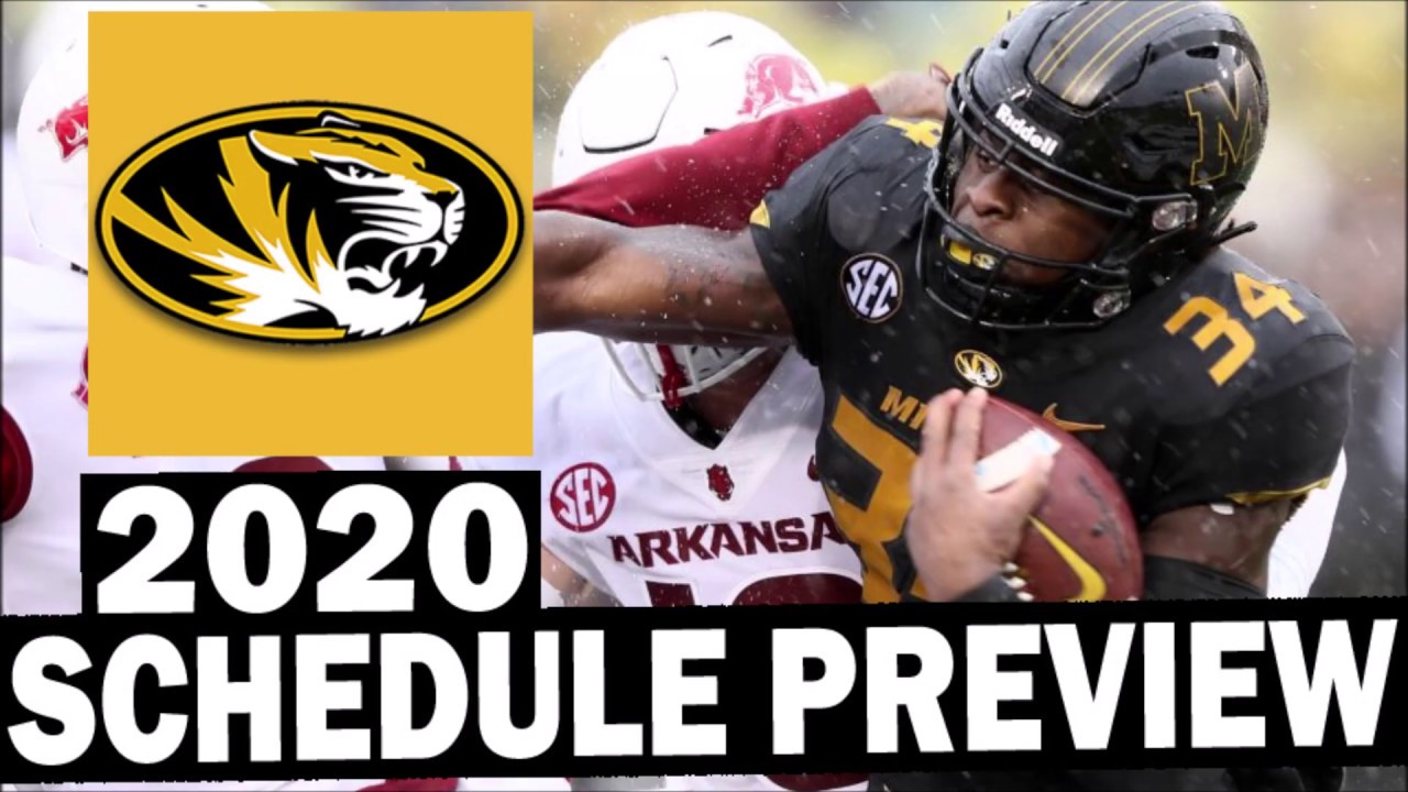 missouri tigers football schedule 2020