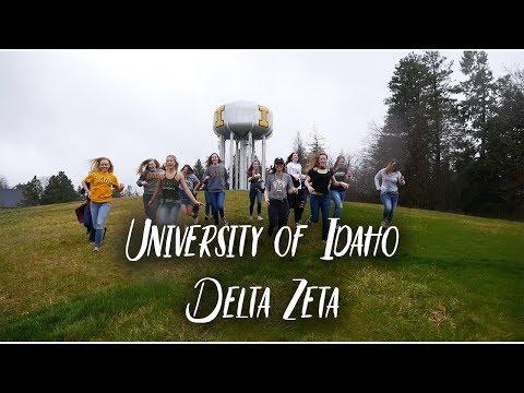 University of Idaho Delta Zeta Recruitment Video 2018