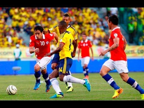 Chile vs Kolombia 2-0 Semifinal Copa Amerika 2016