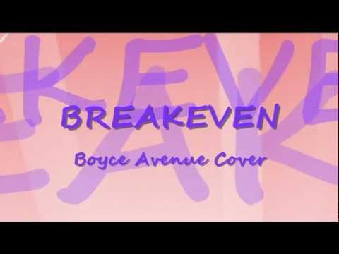 Boyce Avenue- Breakeven by The Script Lyrics