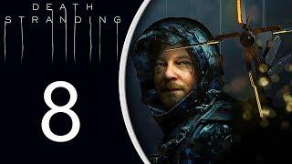 Death Stranding playthrough pt8 - Meet Higgs/First Boss Fight!