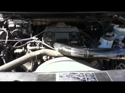 Air Intake Silencer Removal