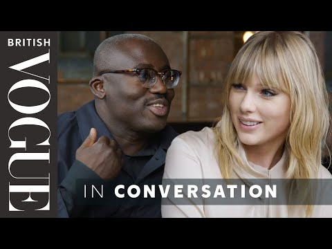 Download Lagu  Taylor Swift Tries Out Her Best British Slang On Edward Enninful | British Vogue Mp3 Free