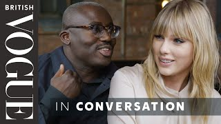 Taylor Swift Tries Out Her Best British Slang On Edward Enninful | British Vogue
