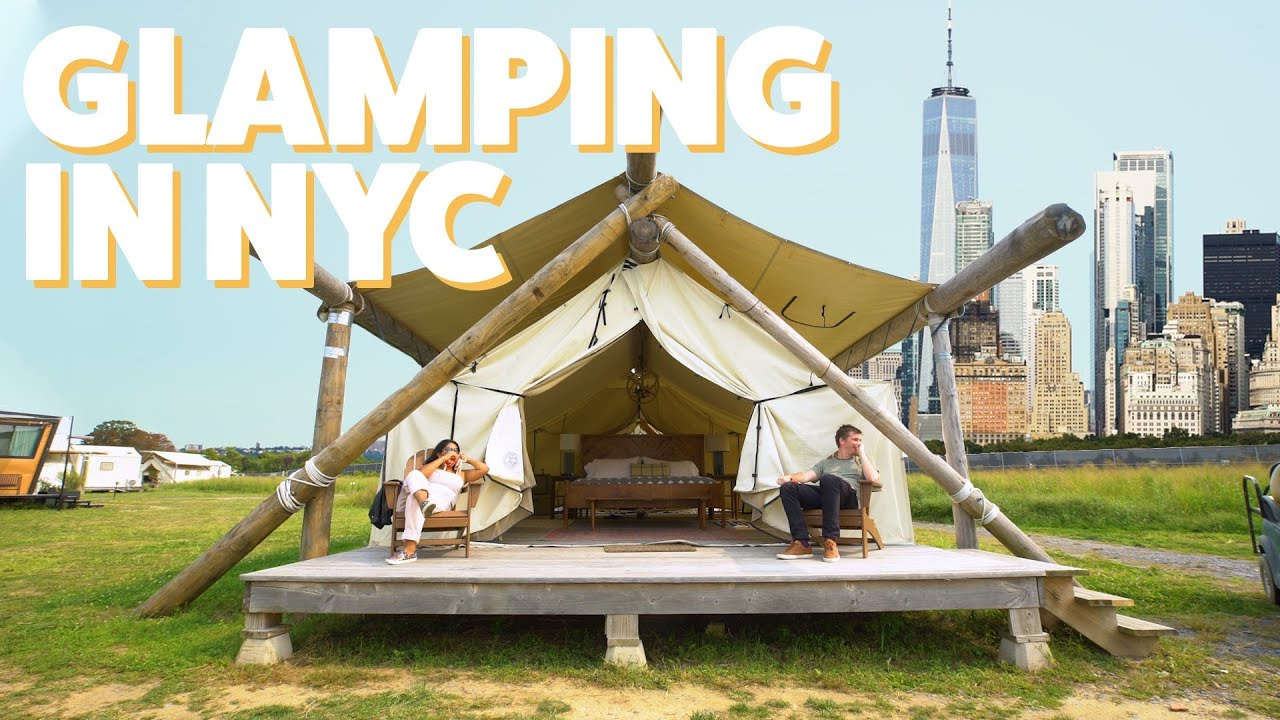 We Went Camping In NYC