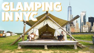 We Went Glamping Iฑ NYC