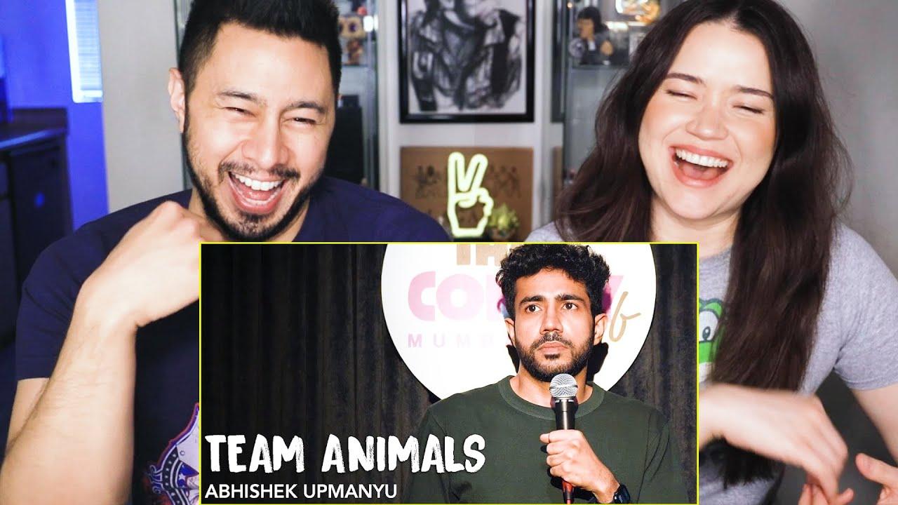 Download ABHISHEK UPMANYU | Team Animals | Stand-Up Comedy Reaction by Jaby Koay & Achara Kirk!