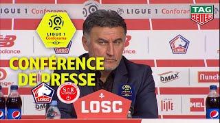 Conférence de presse LOSC - Stade de Reims ( 1-1 ) 17ème journée - 1ère partie (2018-19)