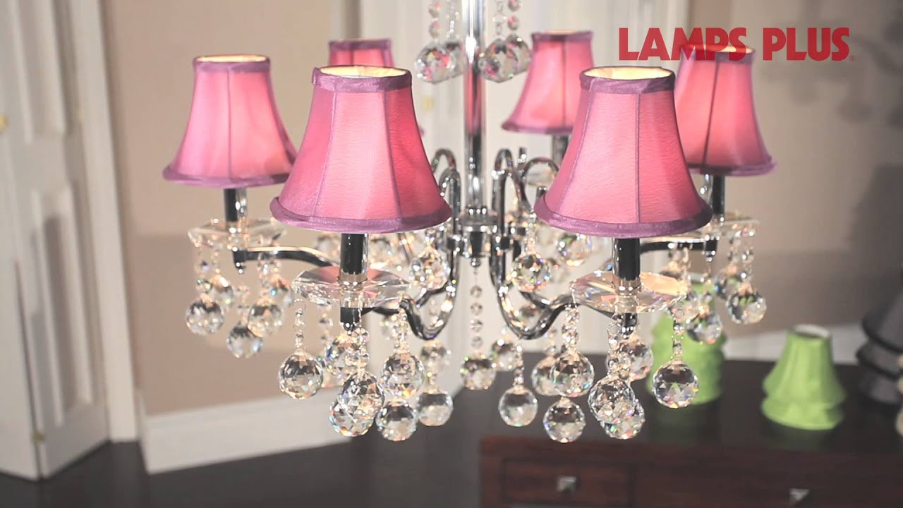 bay brushed white shades chandelier nickel p hampton light for with fabric chandeliers