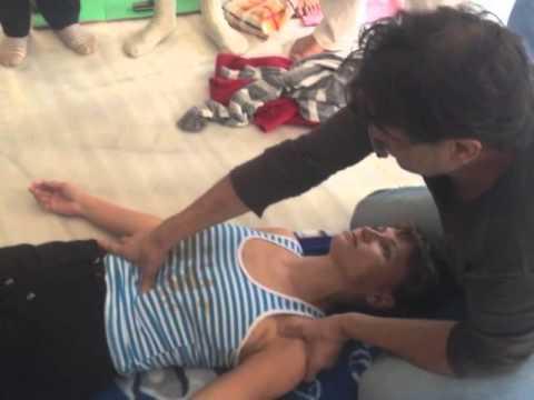 остеопатия техники на лице