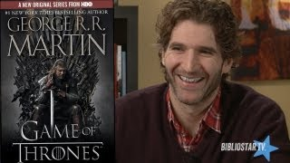 David Benioff on Writing: Game of Thrones, City of Thieves and Telling Lies for Grown Ups