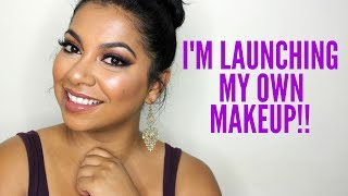 I'M LAUNCHING MY OWN MAKEUP LINE!! | MissBeautyAdikt