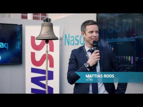 Nasdaq Stockholm Welcomes SSM Holding!