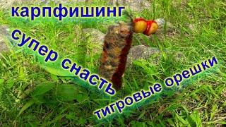 Карпфишинг Сбалансированные тигровые орешки *подводная съемка*