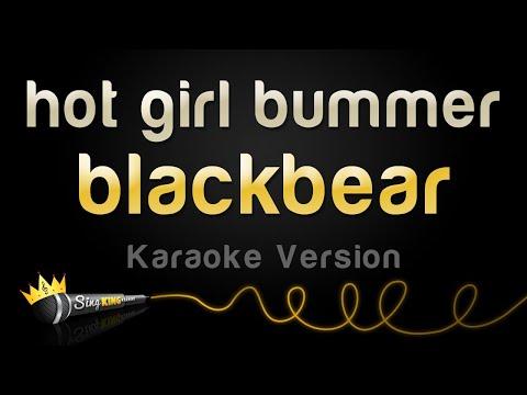blackbear - hot girl bummer Karaoke