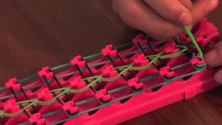 Видеоурок #1 Плетение Браслета из Резинок