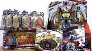 公開初日にパワーレンジャーの映画を観に行って来るよ!玩具も全部買ってきた! thumbnail