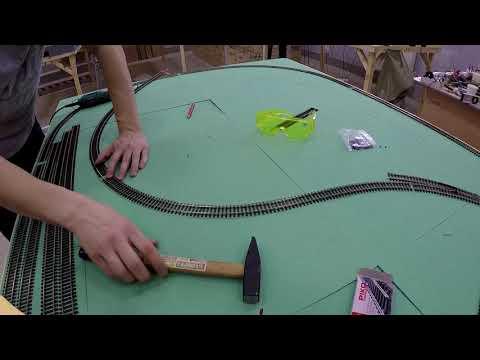 Макет железной дороги своими руками видео