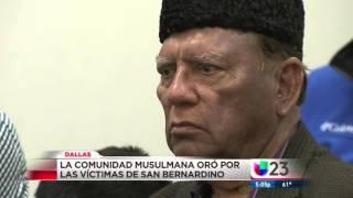 Omni: Ahmadiyya musulmanes en Dallas condenan tiroteo California y orar por las víctimas