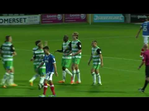 Yeovil Town 4 - 3 Portsmouth    Johnstone's Paint Trophy  30 August 2016