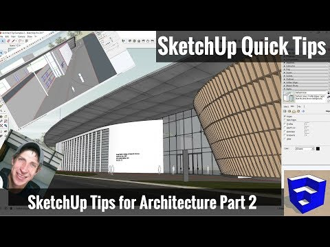 5 MORE Great Architectural Modeling TIPS For SketchUp