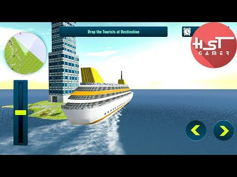 Ship Simulator Game 2017 – Tourist Transport Ship - Android Gameplay Video