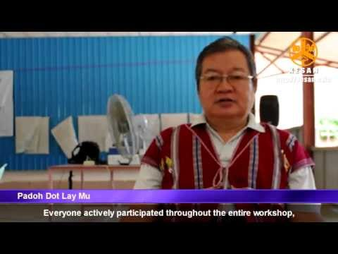 KAD's consultation workshop to gather community input concerning KNU's revised land policy