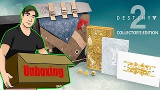 Unboxing Destiny 2 Collector´s Edition
