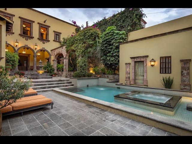 Elegant Serene Home in San Miguel De Allende, Guanajuato, Mexico | Sotheby's International Realty