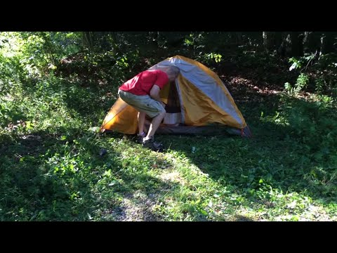 Camping in the Green Mountain National Forest