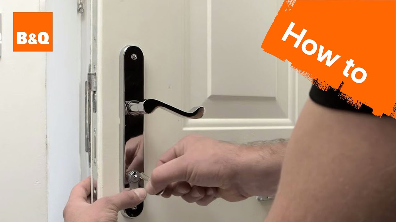 How to change a euro lock cylinder - YouTube