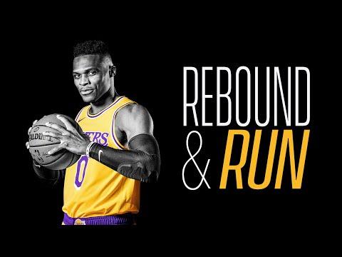 Russell Westbrook - Rebound & Run   Laker Film Room