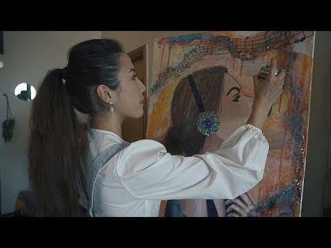 شاهد: فنانة شابة من قرغيزستان تحول ظرفاً عائلياً صعباً إلى قصة نجاح في دبي…  - 23:55-2021 / 7 / 22