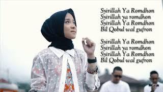 Ya Romdhon (lirik) - Sabyan