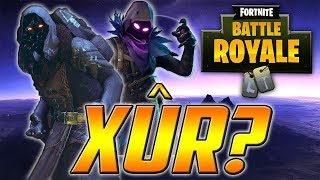 "XÛR en Fortnite Battle Royale? (Raven ""Cuervo"" Skin)"