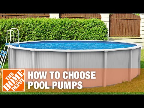 How to Select a Pool Pump - The Home Depot