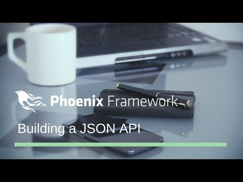 Build a JSON API with Elixir / Phoenix in under an hour
