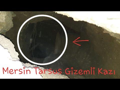 Mersin Tarsus daki Gizemli Kazı Alanına Girdim