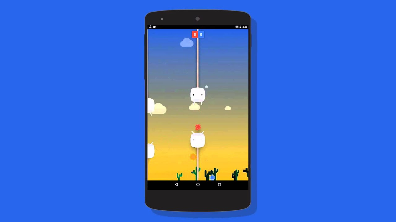 Android 6.0 Official Easter Egg Marshmallow