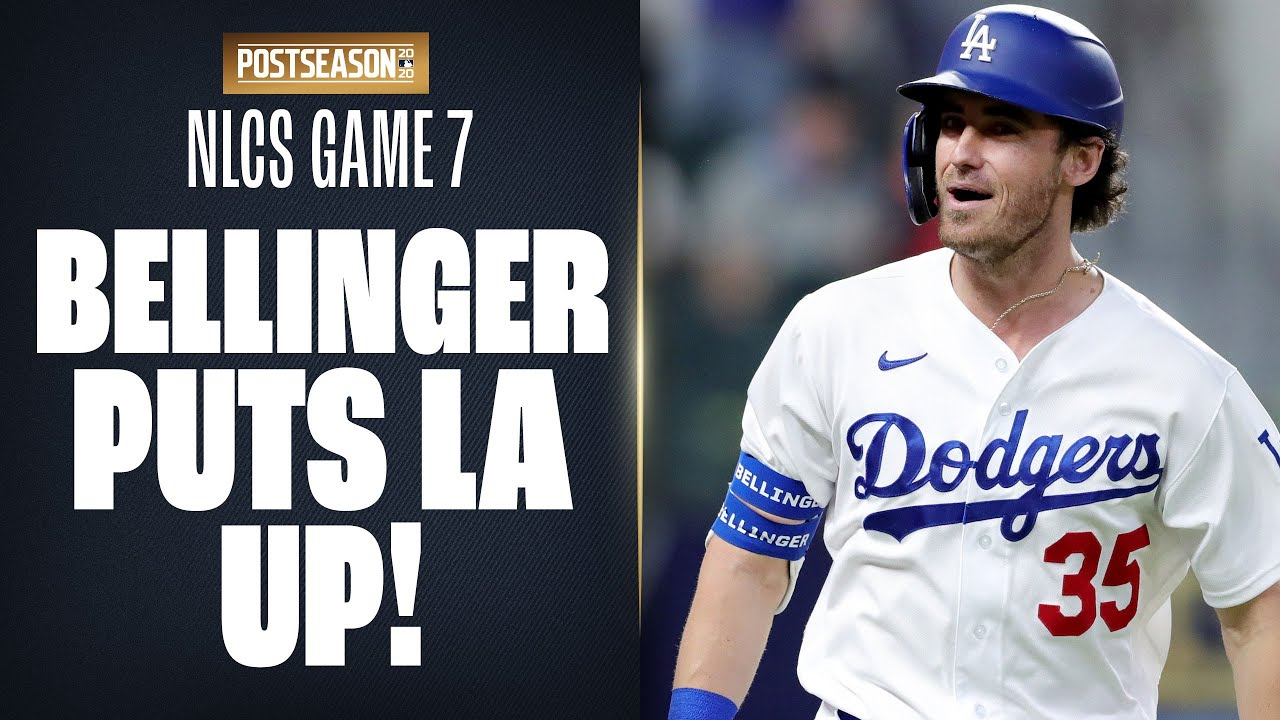 Cody Bellinger LAUNCHES homer to put Dodgers up in 7th inning of NLCS Game 7!