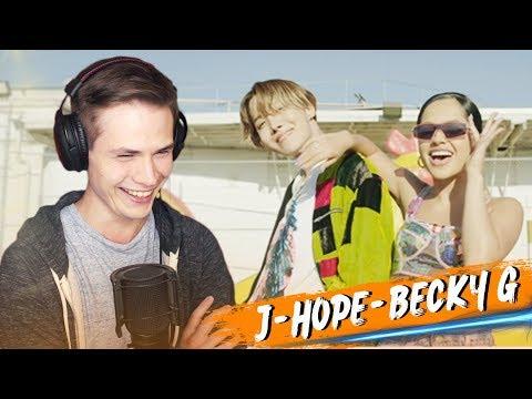 J-hope реакция - Chicken Noodle Soup (feat. Becky G) (MV) РЕАКЦИЯ