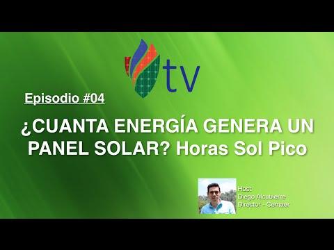 Cuanta Energía Genera un Panel Solar