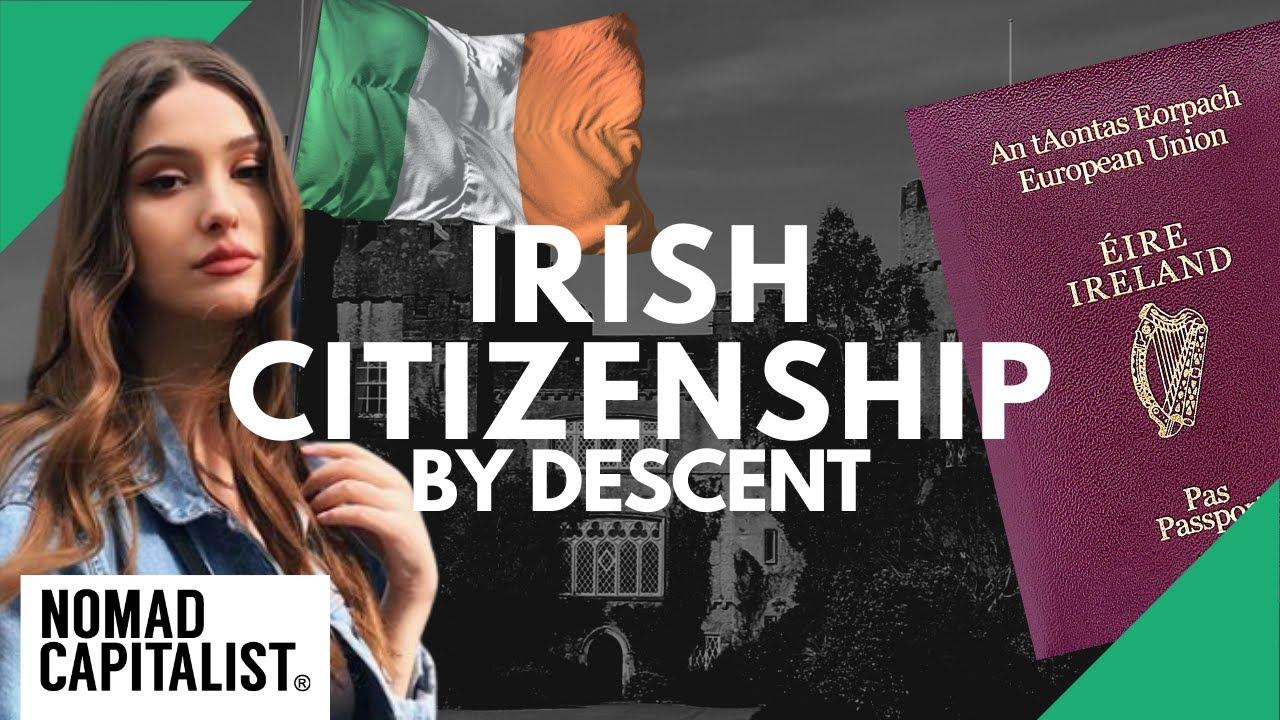 what are the benefits of irish citizenship