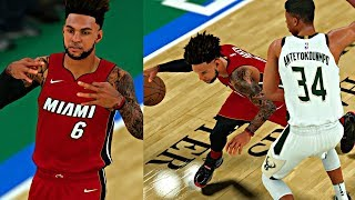 NBA 2K18 MyCAREER - GANG SIGN CAM TRIES TO TAKE OVER THE GAME! GIANNIS AND CAM GET TRIPLE DOUBLES!